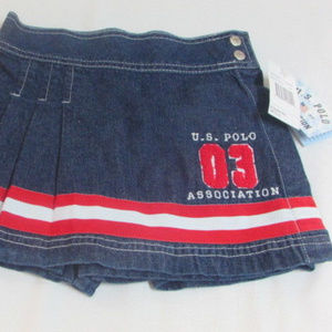 Skorts 3T Girls Toddlers US Polo Assn